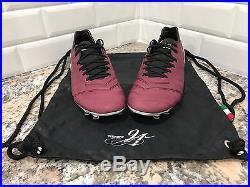 2016 Nike Tiempo Legend VI SE FG SZ 9 Merlot Red Wine Pirlo Soccer 835364-601