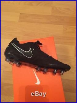 BNIB Men's Nike Tiempo Legend VI TC FG Size UK 8.5 Black Football Boots Tech Cra