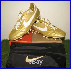 BNIB Nike Air Legend 10r FG Ronaldinho Dinho soccer Shoes Leather R10 Tiempo