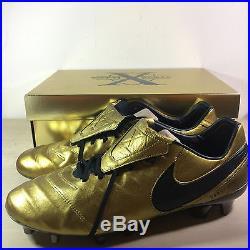 BNIB Nike Tiempo Legend VI SE FG Totti X Roma Limited Edition only 2500 pairs