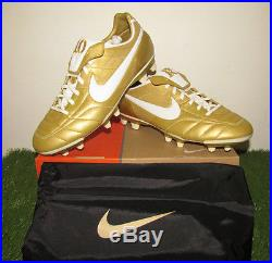 BNIBWT Rare Nike Air Legend R10 FG Ronaldinho Gaucho Gold Mercurial Vapor Tiempo
