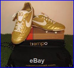 BNIBWT Rare Nike Air Legend R10 Ronaldinho Gaucho Gold Mercurial Vapor Tiempo