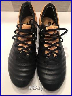 Brand New Nike Tiempo Legend 7 Elite FG Black/Orange UK8.5 US9.5 Flyknit