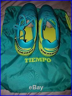 Brand New Nike Tiempo Legend VI FG Sz 9.5 MSRP $210 819177-307 Clear Jade