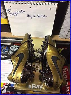 DS Nike Tiempo Legend VI SE FG sz 10.5 Totti x Roma 2500 pairs AA0612 706
