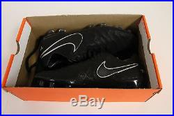 Men's Nike Tiempo Legend VI Tech Craft 2.0 Fg Fg Soccer Cleat 852539 001 Sz 10.5
