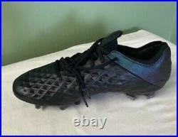 Men's Nike Tiempo Legend 8 VIII Elite FG Black Soccer Cleats AT5293-010 Size 9.5