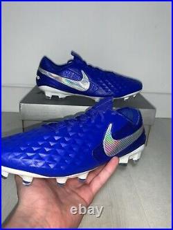 Mens Nike Tiempo Legend Elite Football Boots Blue, White Uk Size 8.5 RRP £190