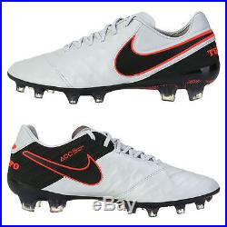 uk availability f688d d0ce4 Mens Nike Tiempo Legend VI 6 FG Soccer Cleats 11 Pure Platinum Black 819177 -001