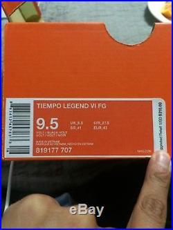 NEON TIEMPO LEGEND VI FG Size (9.5)