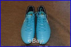 NEW NIKE TIEMPO LEGEND 7 VII ELITE SG PRO Blue Soccer 8 921452-415 FLYKNIT MEN