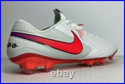NEW Nike Mens Tiempo Legend 8 Elite FG Soccer Cleat White AT5293-163 SZ