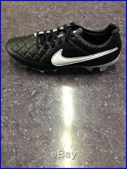NIB Nike Tiempo Legend V FG Mens Cleats Soccer Firm Ground Leather 631518 010
