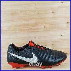 NIKE TIEMPO LEGEND 7 ELITE FG ACC SOCCER CLEATS MADE in ITALY MEN'S SZ. 10