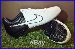 Nike Tiempo Legend Elite IV Clash Fg Black White Football Boots Soccer