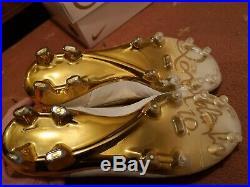 NIKE TIEMPO LEGEND V PREM FG+GOLD LACES RONALDINHO'Touch of Gold' UK7 1493/3000