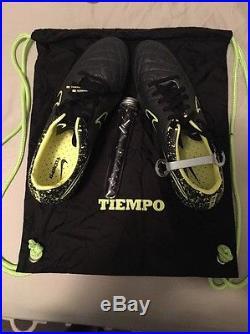 NIKE TIEMPO LEGEND V SG-PRO Soccer Cleats MIX Anthracite/Volt/Black size 9.5 NEW