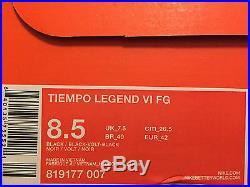 Nike Tiempo Legend VI 8.5 Special Academy Pack V Mercurial Vapor X Cr7 Superfly