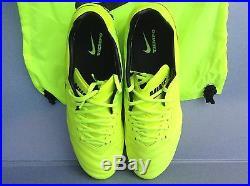 Nike Tiempo Legend VI Fg (819177-707) Sz. 10 Volt Black Volt