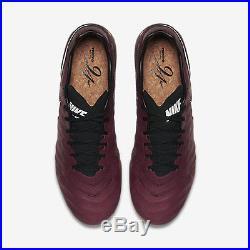 NIKE TIEMPO LEGEND VI SE FG Red Wine New Sz 10 US PIRLO 835364-601 Soccer Cleats