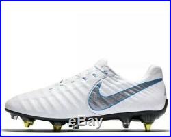 NWT Nike Tiempo Legend VII Elite SG-Pro White Soccer Cleats AH7253-108 SZ-11