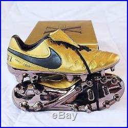 New Limited Nike Tiempo Legend VI SE FG Totti X (Gold) Size 7 US