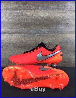 New Men Nike Tiempo Legend VI 6 FG SZ 11 Soccer Cleats Crimson Red 819177-608