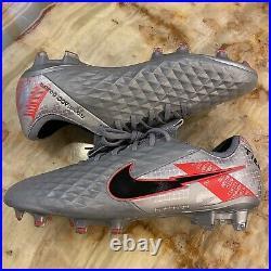 New Mens Nike Tiempo Legend 8 Elite FG Metallic/crimson Soccer Cleats Sz 10.5