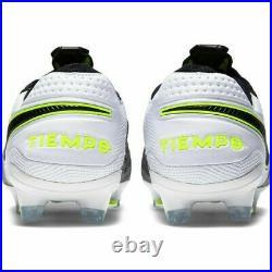 New Nike Tiempo Legend 8 Elite FG Black-White-Volt Men's Size 10 US AT5293-007