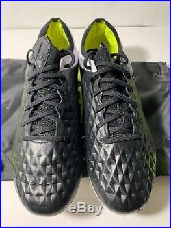 New Nike Tiempo Legend 8 Elite FG Black-White-Volt Men's Size 8-13 US AT5293-007