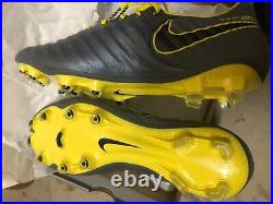 New Nike Tiempo Legend Elite 7 VII FG Mens Size 9 Soccer Cleats Grey K leather