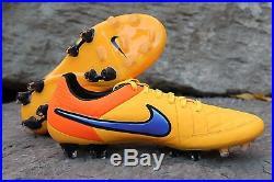New Nike Tiempo Legend V FG Orange Soccer Cleats Sz 8, 9.5, 10 631518 858 $200