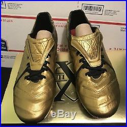 New Nike Tiempo Legend VI Totti X Roma Gold Soccer Cleats Superfly Vapor VII