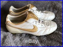 Nike Air Tiempo Legend Sg Ronaldinho R10 Gold Rare