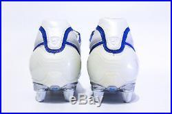 Nike Air Zoom Tiempo Legend SG US10.5 Leather Whit 310112 141 R10 10r Ronaldinho
