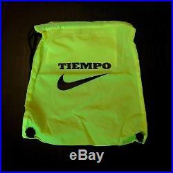 Nike Men Tiempo Legend VI Ag-pro Soccer Cleats Volt Black Sz 8.5 844593-708
