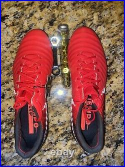 Nike Men's Tiempo Legend VII SG-Pro ACC Red Soccer Cleats 917805-616 Size 9 US