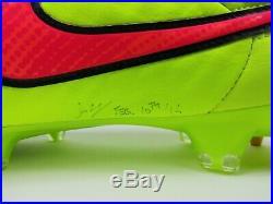 Nike Mens Rare Tiempo Legend V SG-PRO 631614 771 Yellow Soccer Cleats Size 10