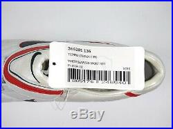 Nike Mens Rare Tiempo Legend lll FG 366201 136 White Red Soccer Cleats Size 10