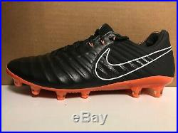 Nike Mens Tiempo Legend VII 7 Elite AG-PRO Black/Orange AH7423-081 Size 8.5