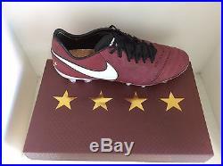 Nike Pirlo Tiempo Legend VI SE FG Red Wine US Size 10