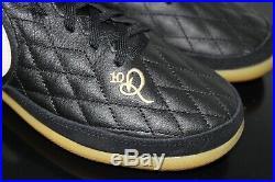 Nike Ronaldinho 10r Tiempo Legend 7 Pro IC Shoes Aq2211-027 Mens Size 7.5 Black