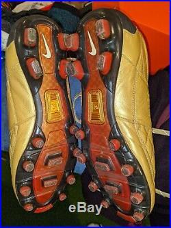 Nike Ronaldinho Dois FG size 9 Tiempo Legend Elite Vapor Phantom R10 10R laser