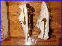 Nike Ronaldinho Gold Touch Tiempo Legend V Prem FG -SZ 12