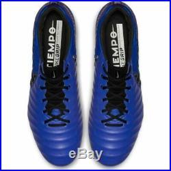 Nike TIEMPO 7 LEGEND ELITE FG UK 11 FLYKNIT ACC Football Boots EUR 46 BLUE