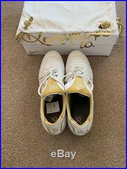 Nike Tiempo 7 Legend VII 10R FG Ronaldinho Touch Of Gold 0951/1000 UK Size 10.5