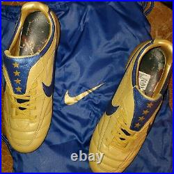 Nike Tiempo Air Legend FG 316112-741 Pirlo RARE Limited Edition