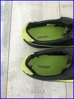 Nike Tiempo Air Legend II FG Football Black Green Cleats Ronaldinho US10 UK9