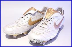 brand new 59ea5 c3d72 Nike Tiempo Air Legend R10 SG US8.5 Original Touch of Gold Ronaldinho  310112 171