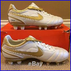 Nike Tiempo Air Legend R10 Touch of Gold I II III IV V VI Ronaldinho Elite